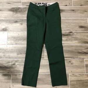 H&M Emerald Green Chino Skinny Ankle Pants
